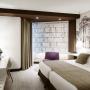 Habitación doble hotel Abando Bilbao